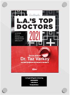 Dr Taz Varkey - Top Doctors 2021 - Obstetrics & Gynecology